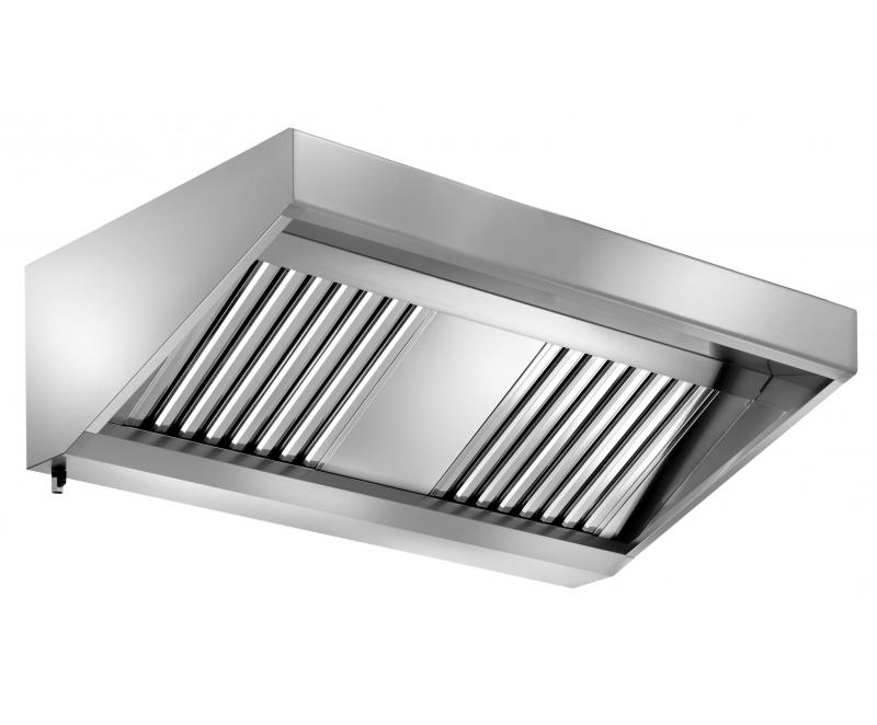 Cappe aspiranti in acciaio inox per la ristorazione - Cappa cucina acciaio ...