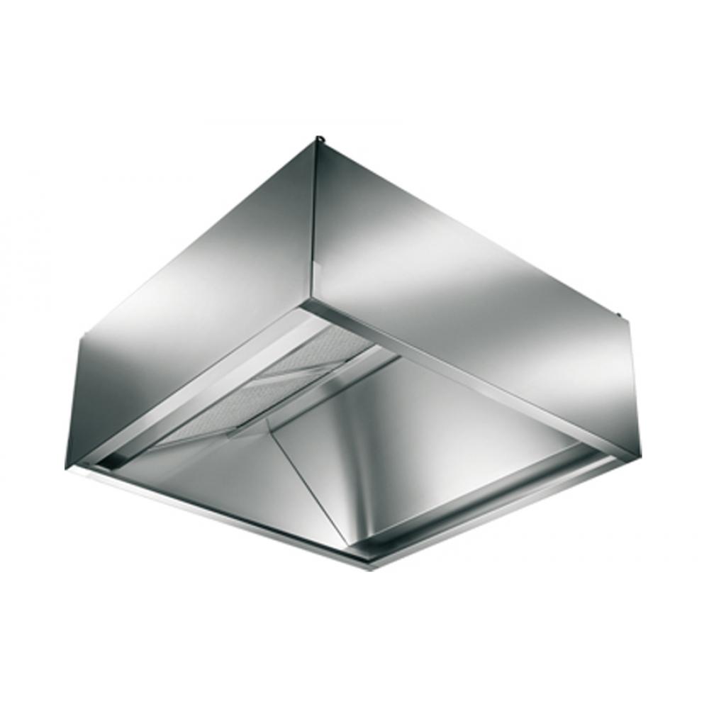 Cappa Inox per Forni 1200x1000x450 mm