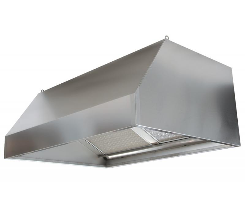 Cappe Inox a Carboni Attivi e Luci LED
