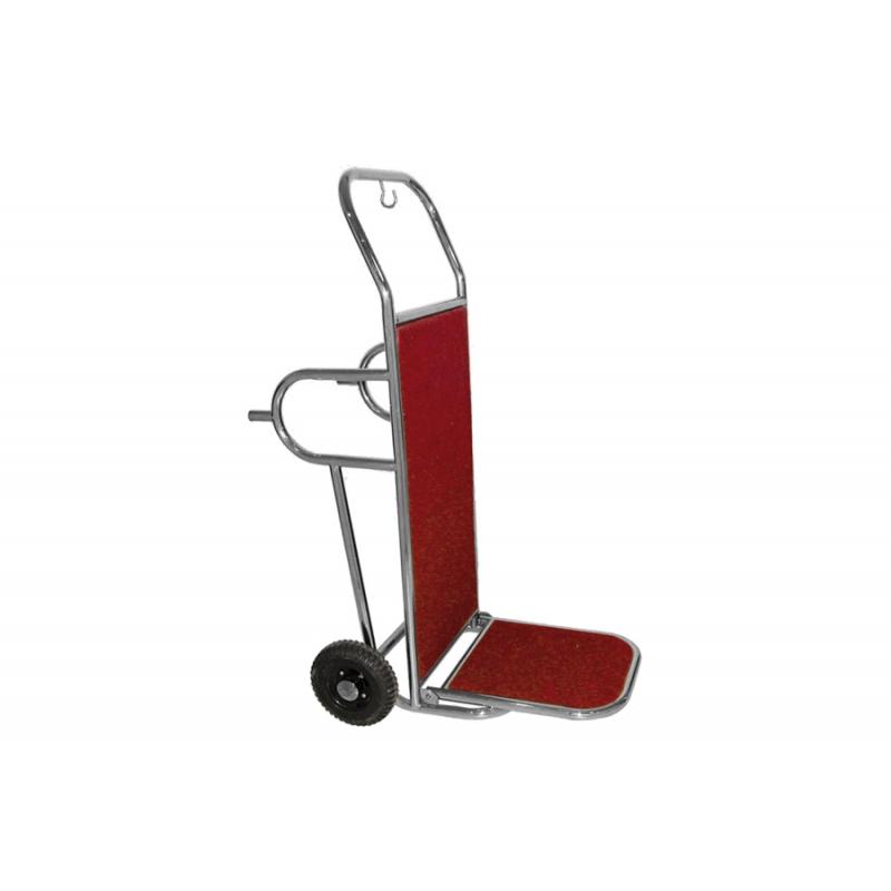 Carrelli porta Valige su 2 Ruote Inox con Piedi - PV2002I