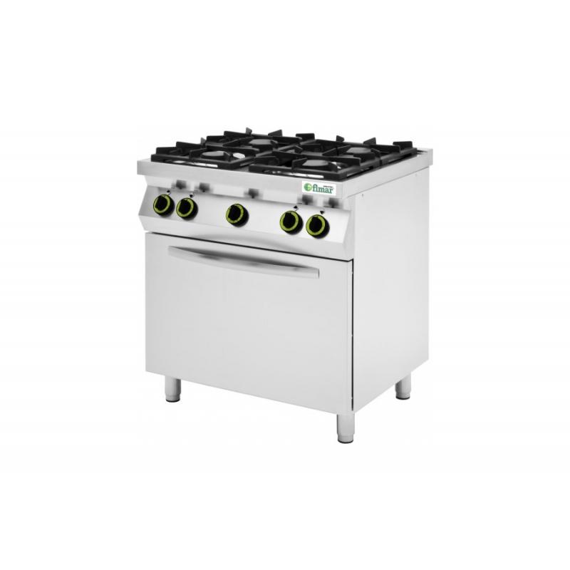 Cucine 4 o 6 Fuochi a Gas - CC74FEV