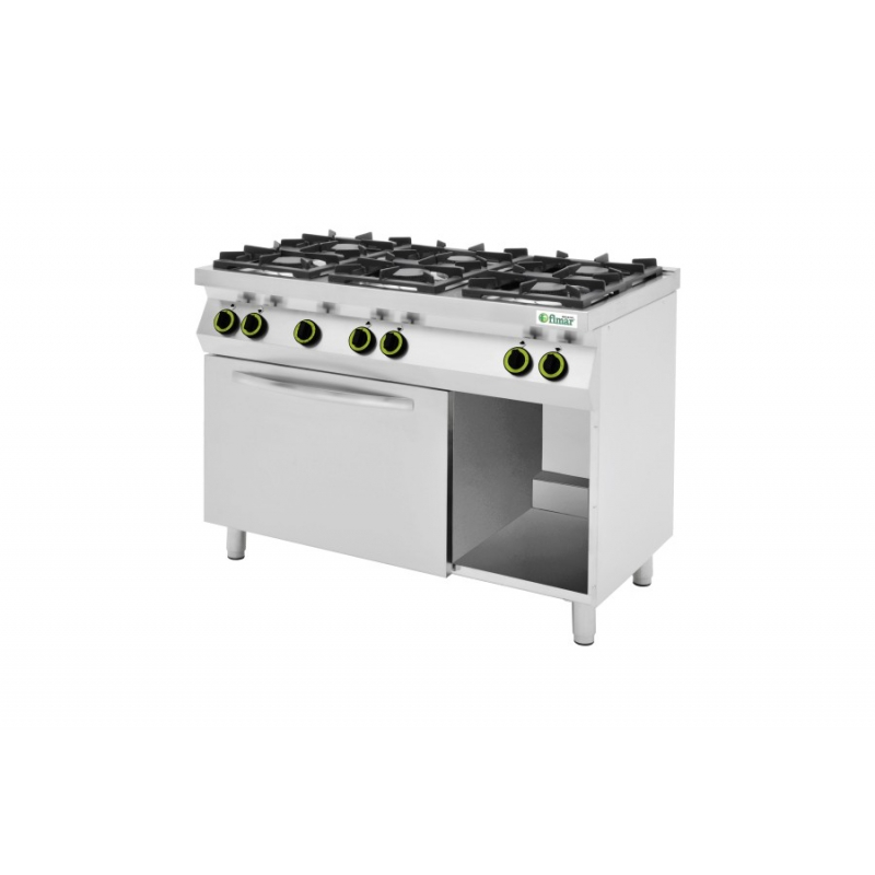 Cucine 4 o 6 Fuochi a Gas - CC76GFEV