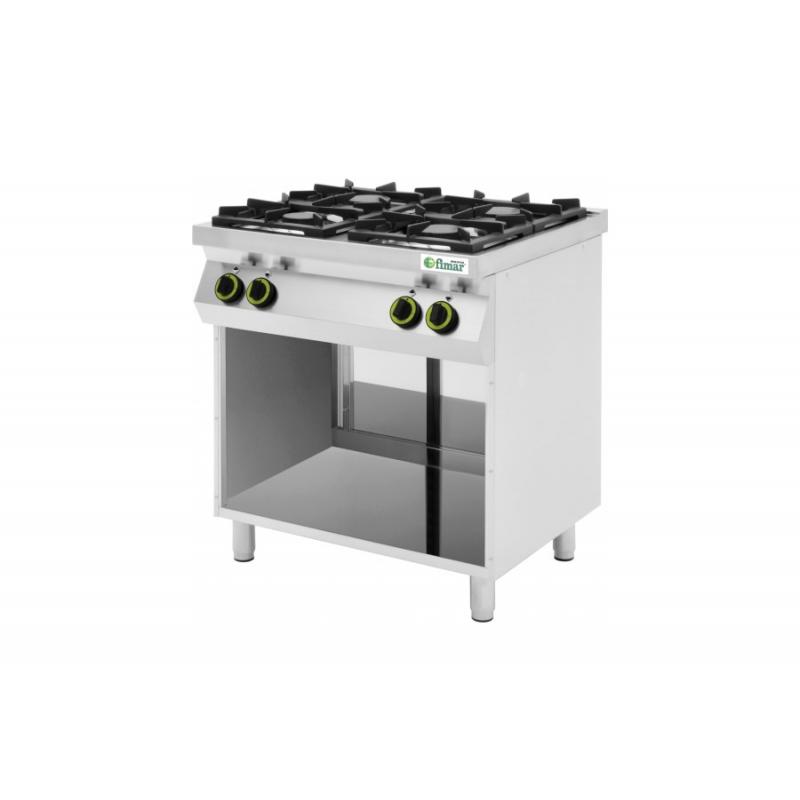 Cucine 4 o 6 Fuochi a Gas - CC74G